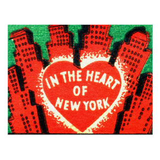 Vintage New York Hotel Dixie Matchbook Art Cover Post Card