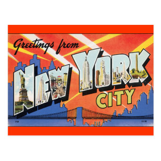 Vintage New York Post Card