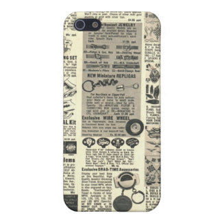 vintage newspaper iPhone 5/5S covers