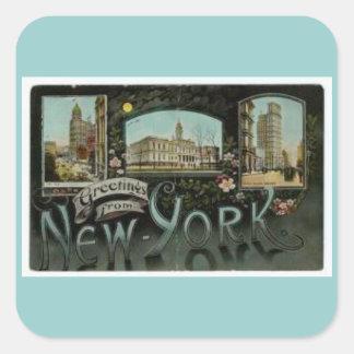 Vintage NewYorkCity Stickers