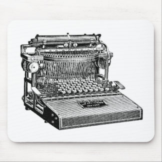 Vintage No. 4 Caligraph Writing Machine, Mouse Pad