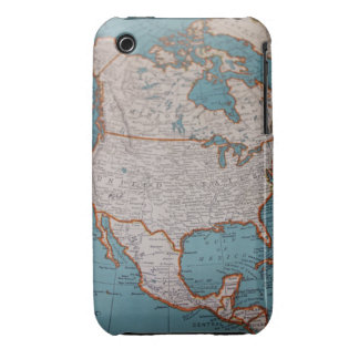 Vintage North America 3G iphone Case