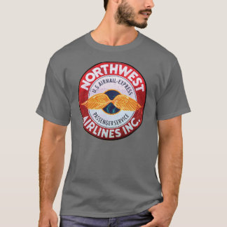 Vintage Northwest airlines sign T-Shirt