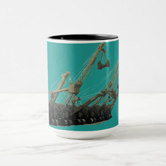 Vintage Northwest Crane and Shovel Heavy Equipment Mug
