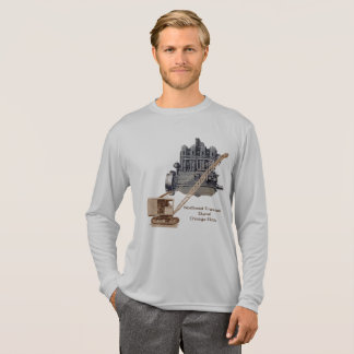 Vintage Northwest Crane and Shovel Heavy Equipment T-Shirt
