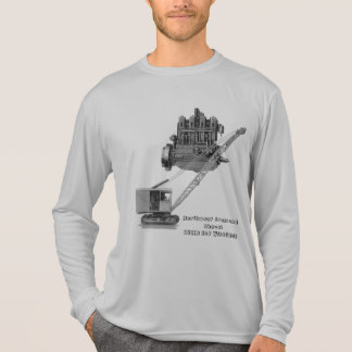 VINTAGE NORTHWEST ENGINEERING CRANE AND MOTOR T-Shirt