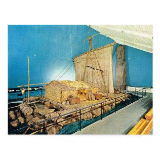 Vintage Norway, Oslo , Kontiki, Thor Heyerdahl Postcard