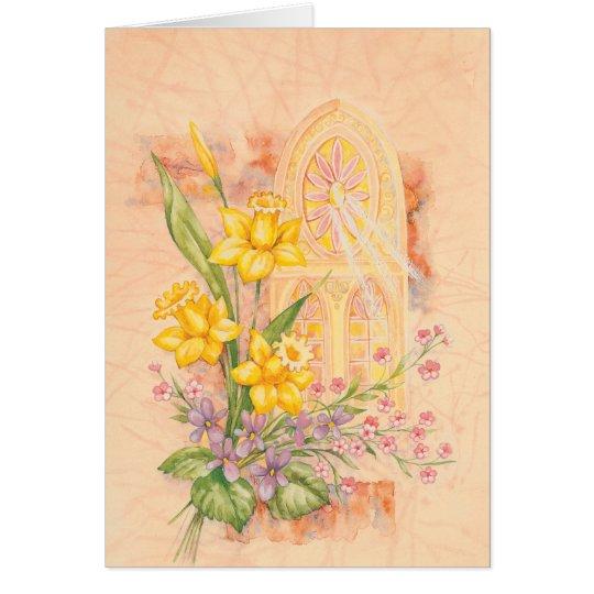 Vintage nostalgic Easter, Ostern, Semana Santa Card