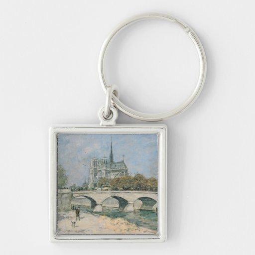Vintage Notre Dame de Paris Keychains