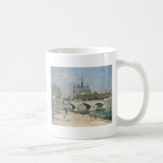 Vintage Notre Dame de Paris Mug