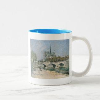 Vintage Notre Dame de Paris Mugs