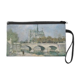 Vintage Notre Dame de Paris Wristlet Clutches