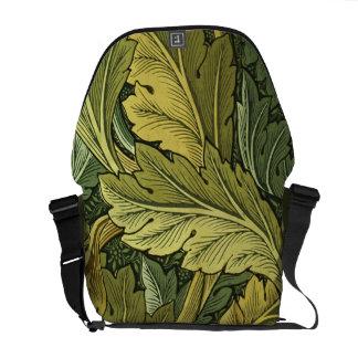 Vintage Nouveau Acanthus Leaf Messenger Bag
