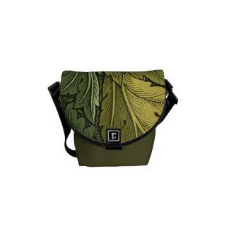 Vintage Nouveau Acanthus Leaf Mini Messenger Bag