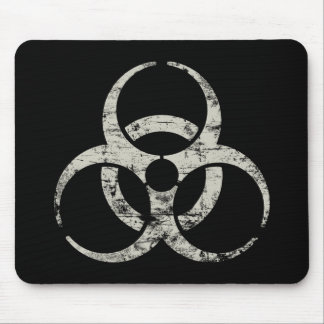 Vintage Nuclear Symbol Mouse Pad