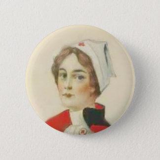 Vintage Nurse 6 Cm Round Badge