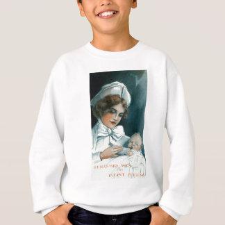 Vintage Nurse Baby Forumla Advertisement Sweatshirt