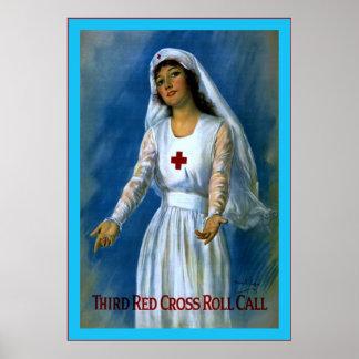 Vintage Nurse Poster