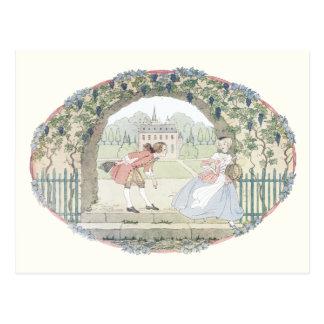 Vintage Nursery Rhyme by H. Willebeek Le Mair Postcard