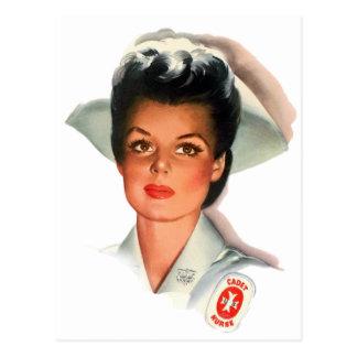 Vintage Nursing Student Nurse Postcard