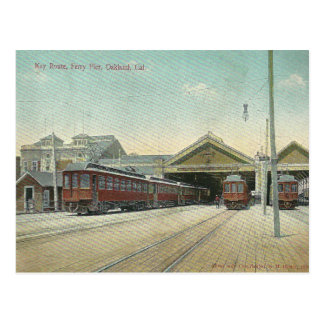 Vintage Oakland California Postcard
