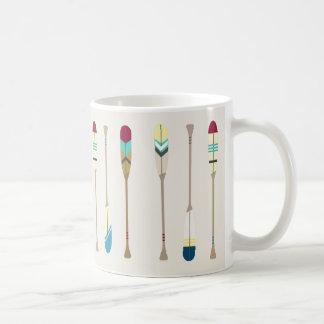 Vintage Oars Coffee Mug