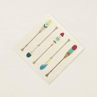 Vintage Oars Paper Napkin