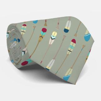 Vintage Oars Tie