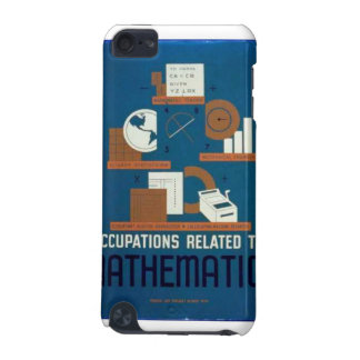 Vintage Occupations Related to Mathematics Poster iPod Touch 5G Case