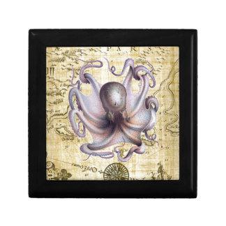 Vintage octopus gift box