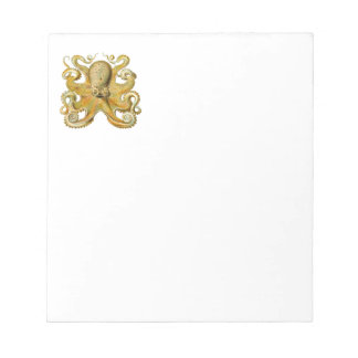 Vintage Octopus Scratch Pads