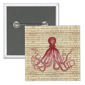 Vintage octopus pins
