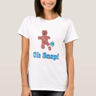 Vintage Oh Snap Gingerbread Man Shirt