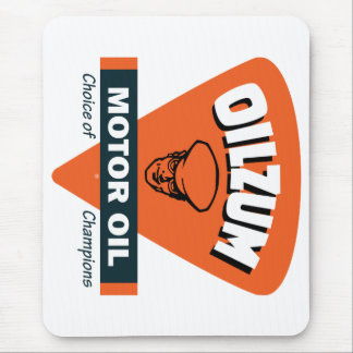 Vintage Oilzum motor oil sign Mouse Pad