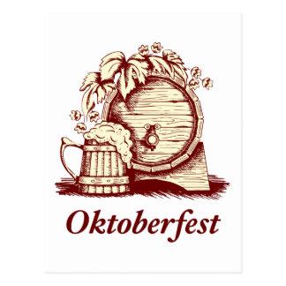 Vintage Oktoberfest Postcard