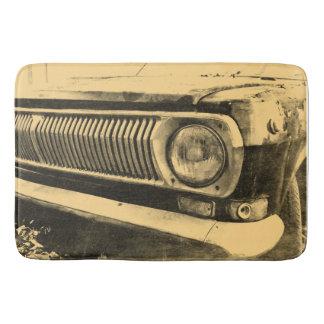 Vintage Old Classic Car Headlights Bath Mats