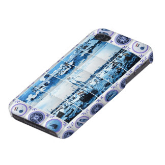 Vintage Old Holland Tiles Amsterdam iPhone 4/4S Covers