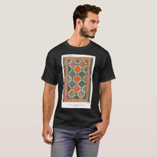 Vintage Old School t-shirt Ceramic Mosaic pattern