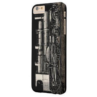Vintage Old Steam Train Locomotive Barely There iPhone 6 Plus Case
