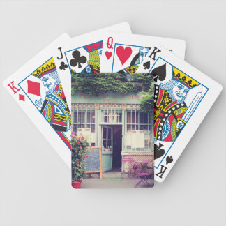 Vintage Old Town Paris Bicycle Playing Cards