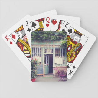 Vintage Old Town Paris Playing Cards