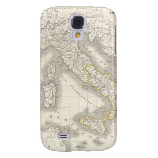 Vintage old world Italy map cool Italian foodie Samsung Galaxy S4 Covers