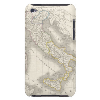 Vintage old world Italy map Italian foodie iPod Case-Mate Cases
