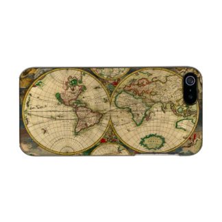 Vintage old world Maps Antique map Incipio Feather® Shine iPhone 5 Case