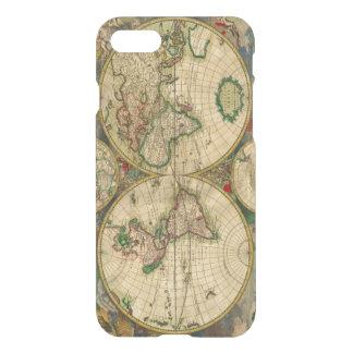 Vintage old world Maps Antique map iPhone 7 Case