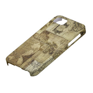 Vintage old world Maps Antique maps iPhone 5 Covers