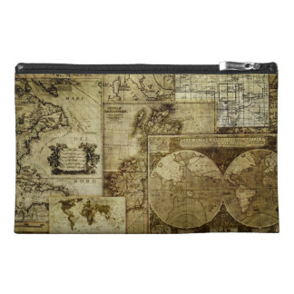 Vintage old world Maps Travel Accessory Bag