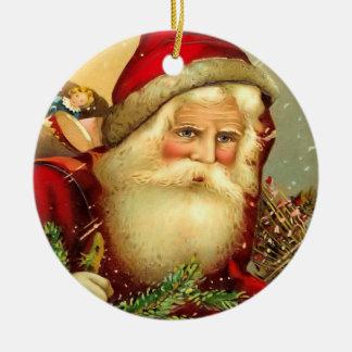 Vintage Old World Santa Christmas Ornament