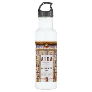 Vintage Opera Music, Egyptian Aida by Verdi 710 Ml Water Bottle