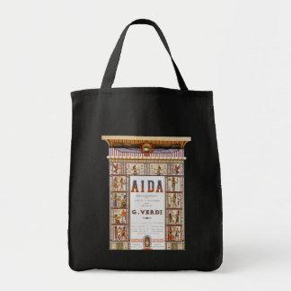 Vintage Opera Music, Egyptian Aida by Verdi Bag